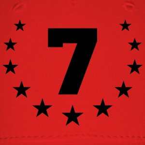 Number 7 T-Shirts - Baseball Cap