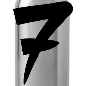 Number 7 Design Women's T-Shirts - Water Bottle