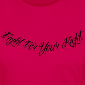 Fight For Your Right 2 Hoodies - Women's Premium Long Sleeve T-Shirt