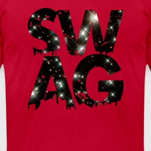 swag Long Sleeve Shirts - Men's T-Shirt by American Apparel