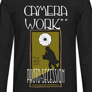CAMERA WORK - 291 - Photo Secession - Men's Premium Long Sleeve T-Shirt