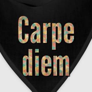 carpe diem with shadow effect Women's T-Shirts - Bandana