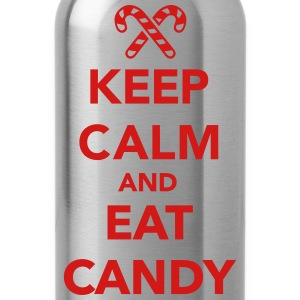 Keep calm and eat candy T-Shirts - Water Bottle