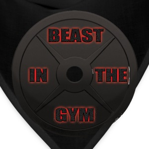 Beast In The Gym Hoodies - Bandana