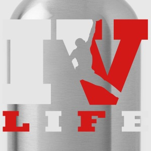 IV life sneaker design T-Shirts - Water Bottle