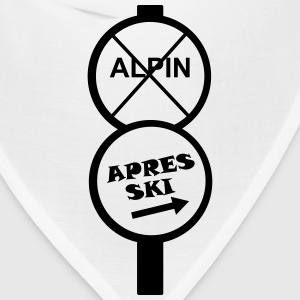 apres ski, apre's ski, party, celebrate, winter T-Shirts - Bandana