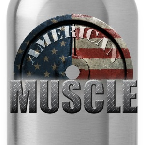 AMERICAN MUSCLE T-Shirts - Water Bottle