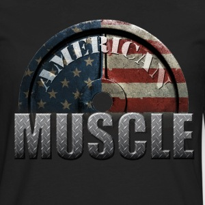 AMERICAN MUSCLE T-Shirts - Men's Premium Long Sleeve T-Shirt