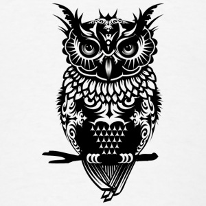 A dark owl Tanks - Men's T-Shirt