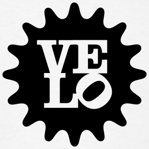Velo Love Hoodies - Men's T-Shirt