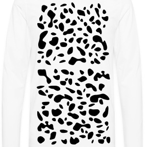 Dalmatian Spotted Children's T-Shirt - Men's Premium Long Sleeve T-Shirt