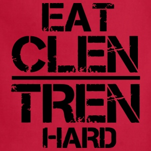 Eat Clen Tren Hard LolClothing T-Shirts - Adjustable Apron