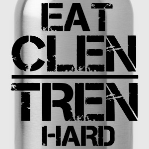 Eat Clen Tren Hard LolClothing T-Shirts - Water Bottle