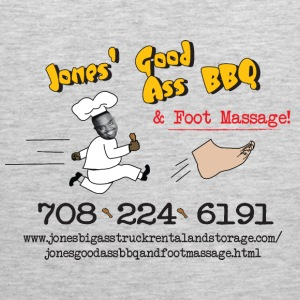 Jones Good Ass BBQ and Foot Massage logo Hoodies - Men's Premium Tank