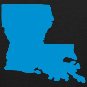 State of Louisiana T-Shirts - Men's Premium Tank