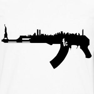 AK47 NY Skyline Hoodies - Men's Premium Long Sleeve T-Shirt