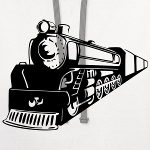 Train Oncoming T-Shirts - Contrast Hoodie