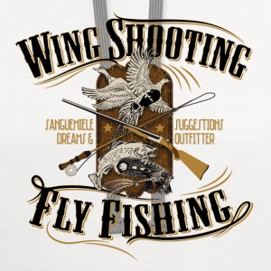 wingshooting_fly_fishing Women's T-Shirts - Contrast Hoodie