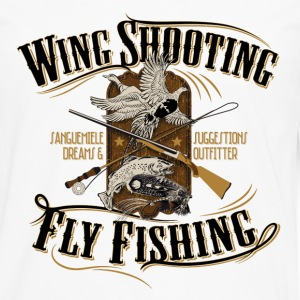 wingshooting_fly_fishing Women's T-Shirts - Men's Premium Long Sleeve T-Shirt