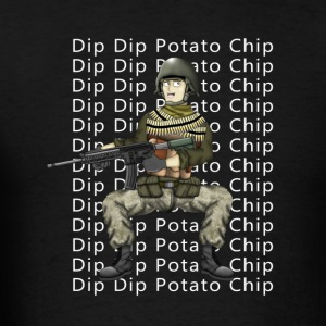 Dip Dip Potato Chip Hank & Jed Hoodies - Men's T-Shirt