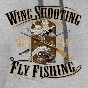 wingshooting_fly_fishing T-Shirts - Contrast Hoodie