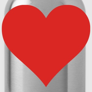 Plain Heart Tanks - Water Bottle