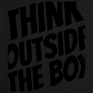 Think outside the box Zip Hoodies & Jackets - Men's T-Shirt