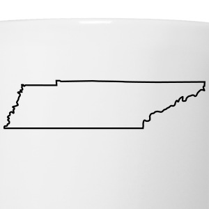 Tennessee,map,landmap,land,country,outline T-Shirts - Coffee/Tea Mug
