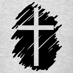 Art Cross Crucifix  Hoodies - Men's T-Shirt