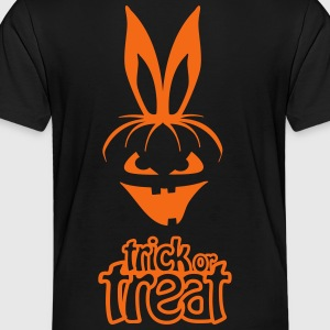 pumpkin rabbit trick or treat hare halloween bunny Kids' Shirts - Toddler Premium T-Shirt