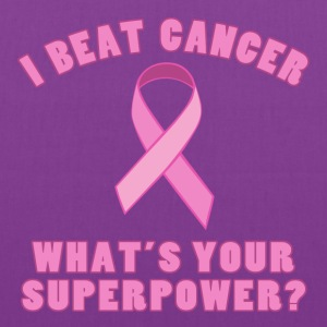 I Beat Cancer (Superpower) - Tote Bag