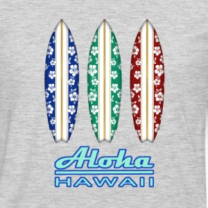 ALOHA - Hawaiian Surfboards - Men's Premium Long Sleeve T-Shirt