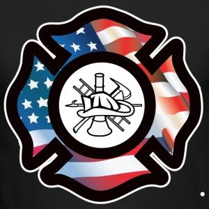 Firefighter - Men's Long Sleeve T-Shirt by Next Level