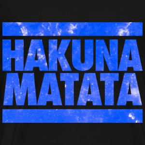 Hakuna Matata Long Sleeve Shirts - Men's Premium T-Shirt