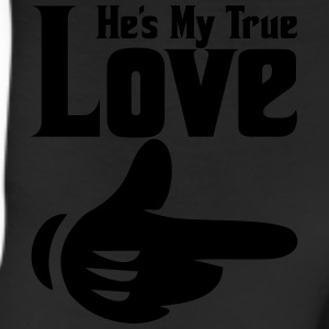 he's my true love Women's T-Shirts - Leggings