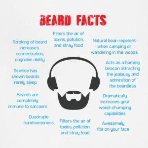 Beard Facts - Adjustable Apron