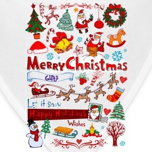 Christmas - Santa - December T-Shirts - Bandana