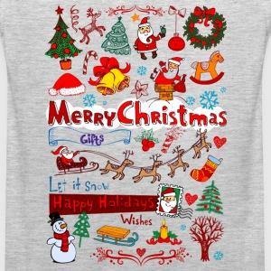 Christmas - Santa - December T-Shirts - Men's Premium Tank