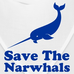 save the narwhals - Bandana