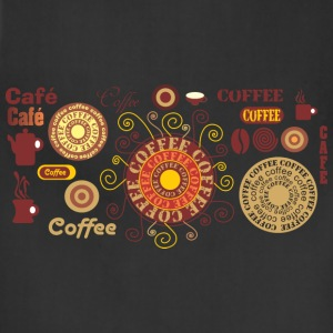 Coffee - Cafe T-Shirts - Adjustable Apron