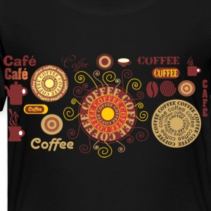 Coffee - Cafe Kids' Shirts - Toddler Premium T-Shirt