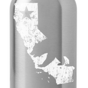 California State Bear Flag - Water Bottle