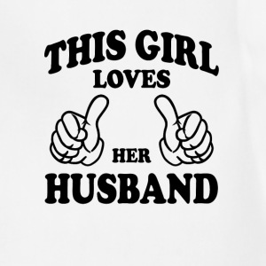 This Gir Loves Her Husband Women's T-Shirts - Adjustable Apron