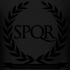 SPQR Long Sleeve Shirts - Men's T-Shirt
