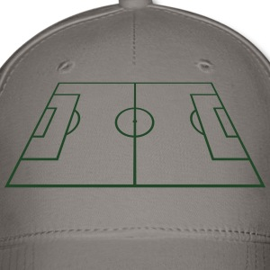 Soccer Playing Court - Pitch - Field T-Shirts - Baseball Cap