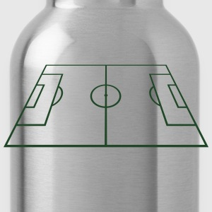 Soccer Playing Court - Pitch - Field T-Shirts - Water Bottle