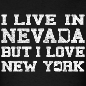 Live Nevada Love New York Long Sleeve Shirts - Men's T-Shirt