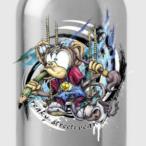 the graphic monkey Hoodies - Water Bottle