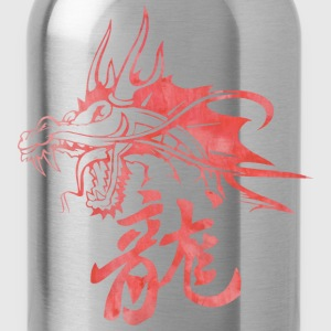 Dragon - Asian - Tattoo - Fantasy Hoodies - Water Bottle