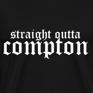 Straight outta Compton Long Sleeve Shirts - Men's Premium T-Shirt
